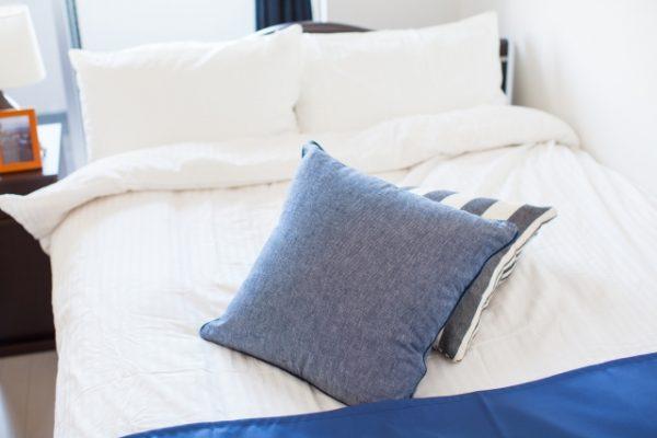 ベッドのインテリア