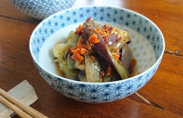 火を使わずレンジで3分!朝食にもおつまみにも合う「なすのナムル」by料理家 村山瑛子さん