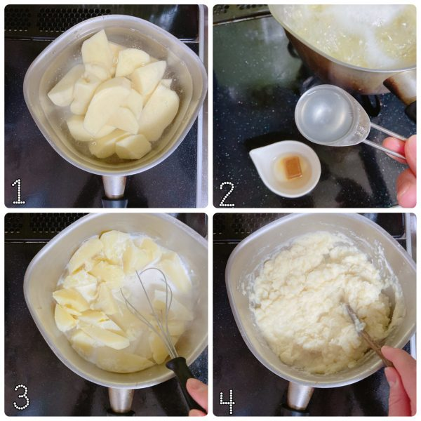 食パンにのせても美味!簡単「コンソメポテト」の作り置き