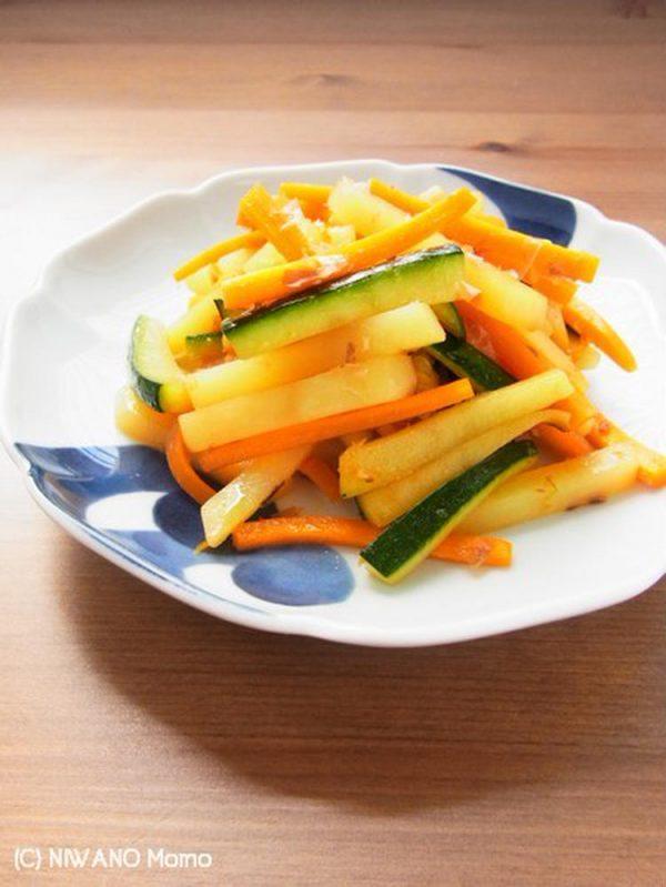 3色野菜のおかかきんぴら by庭乃桃さん