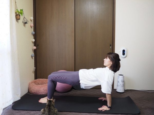 デスクワークで丸まった姿勢を改善!ガチガチ肩こりにも効く「ゆる体幹トレ」