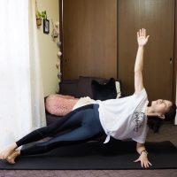 ゆる体幹トレーニング【第4弾】!脇腹と背中をシャープにする「エルボーサイドプランク」