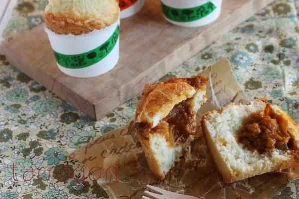 カレーの翌朝はコレで決まり♪紙コップ+ホットケーキミックスで簡単「焼きカレーパン」byタラゴン(奥津純子)さん