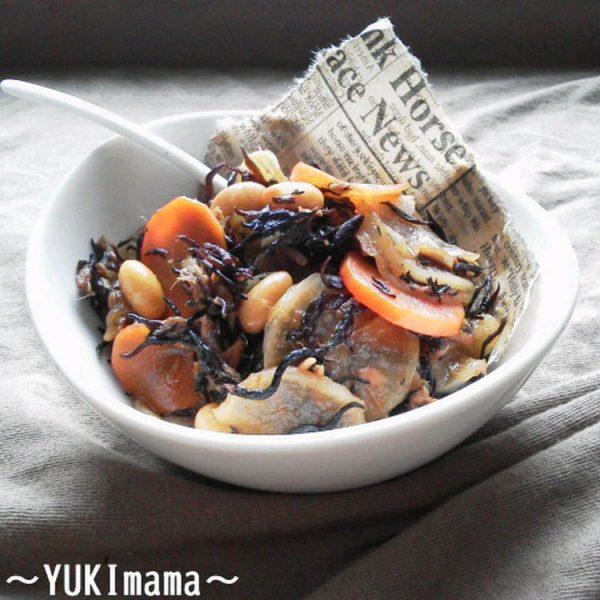 出汁うま!ツナと大根のほっこりひじき煮(常備菜) byYUKImamaさん