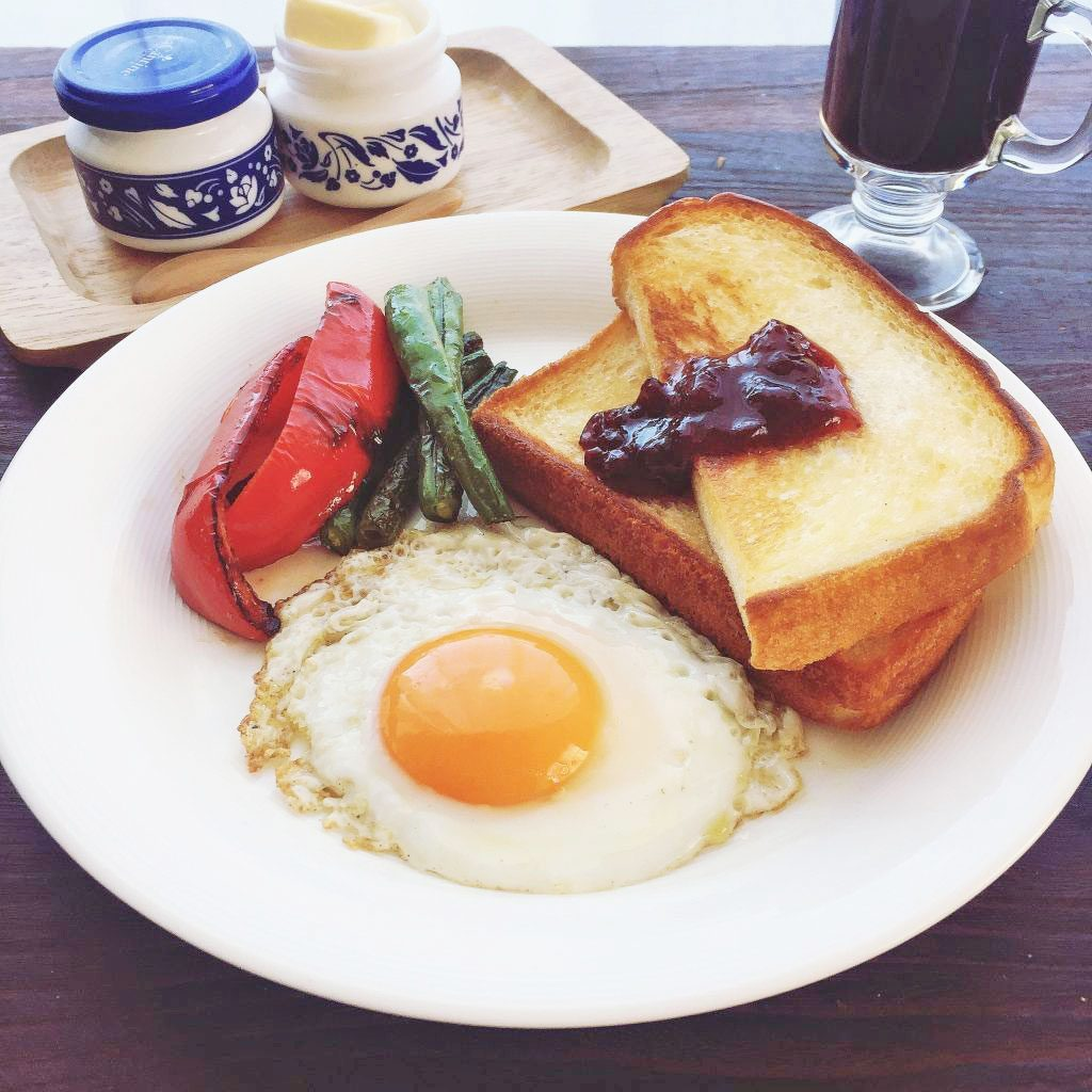 フライパンひとつ!洗い物もラクラク「時短ワンプレート朝食」