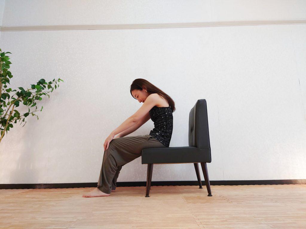 【イスに座ったまま簡単】自律神経を整える「ネコのポーズ」♪
