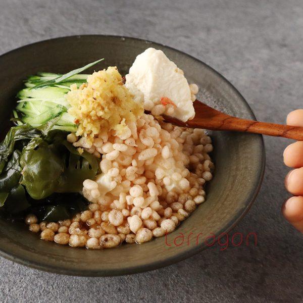 5分で簡単!サクサク、つるん♪「冷やしたぬき豆腐」