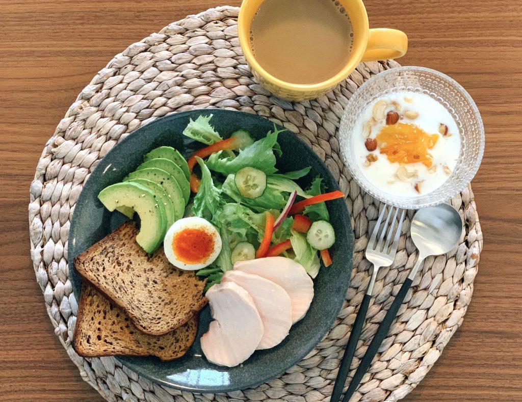 低糖質朝ごはん