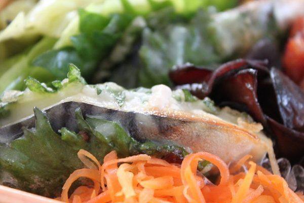 魚おかずのお悩み解決!「塩さばの大葉巻き」のお弁当 by料理家 かめ代。さん