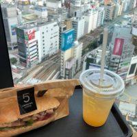 【渋谷】渋谷の街を眺めながらパノラマモーニング@5 CROSSTIES COFFEE【vol.245】