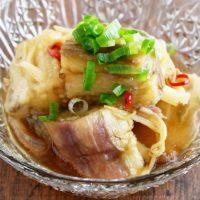 【作り置き可】夏の暑い朝にぴったり!簡単「焼きナスの中華マリネ」