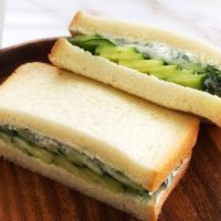 水分オフがコツ!簡単「きゅうり」サンドイッチレシピ4選