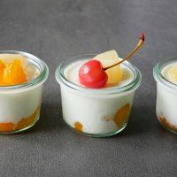 さっぱり味で、暑い朝でも食べやすい!簡単「ヨーグルトゼリー」