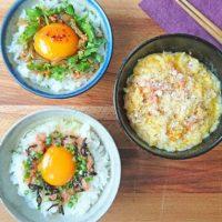 朝のザ・定番!時短でヘルシー「卵かけごはん」レシピ3選