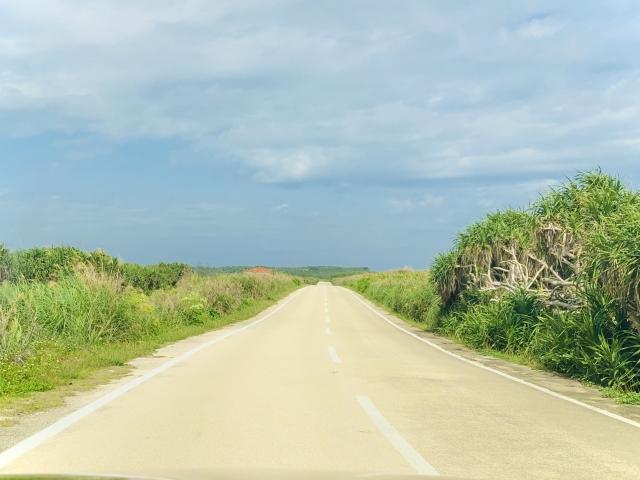 長い道のりのイメージ