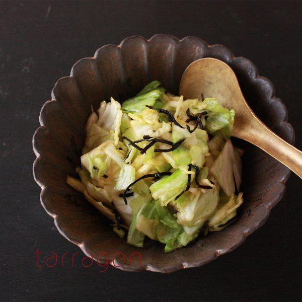 袋に入れてもむだけ!5分で簡単「キャベツと塩昆布のやみつきサラダ」byタラゴン(奥津純子)さん