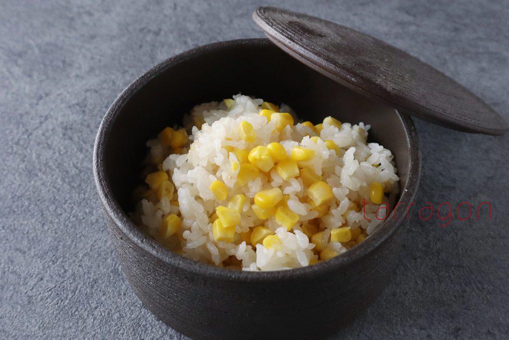 味つけは白だしだけで簡単!絶品「とうもろこしの炊き込みご飯」