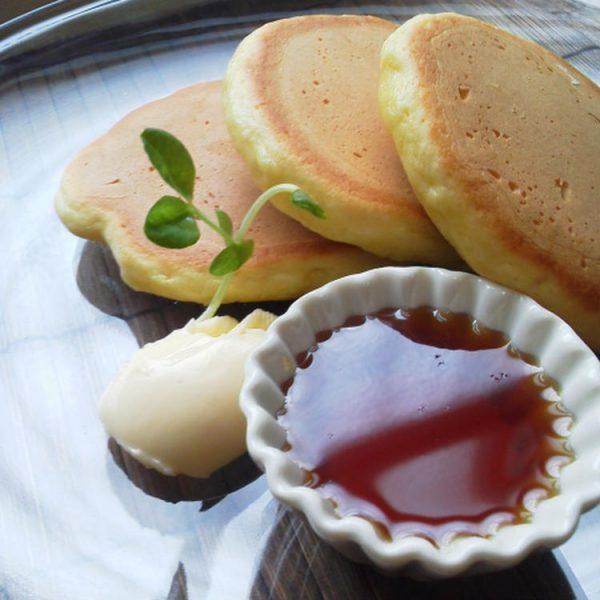 HMでパルメザンたっぷりパンケーキ byYUKImamaさん
