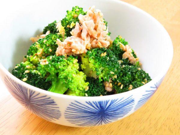 簡単和総菜☆ブロッコリ-とツナの胡麻和えbykaana57さん