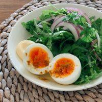 低糖質朝ごはんに欠かせない!「ゆで卵」をおいしくする3つの調味料