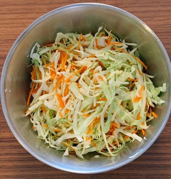 千切り野菜