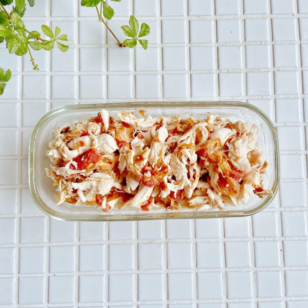 さっぱり味がクセになる作り置き!簡単「ささみの梅おかか和え」レシピ