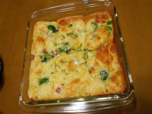 HMで混ぜて焼くだけ!野菜ケーキ by~syokoの趣味と料理日記~さん