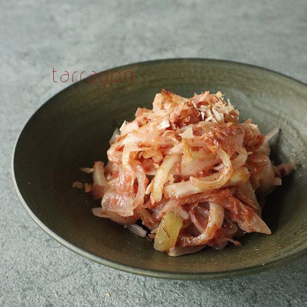 年末年始の食べ疲れをリセット!4分で簡単「玉ねぎと梅のおかか和え」 byタラゴン(奥津純子)さん