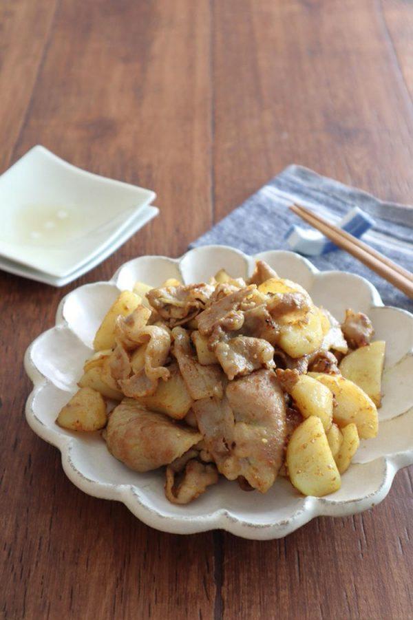 ごはんがすすむ!豚肉とじゃがいものカレー炒めbykaana57さん