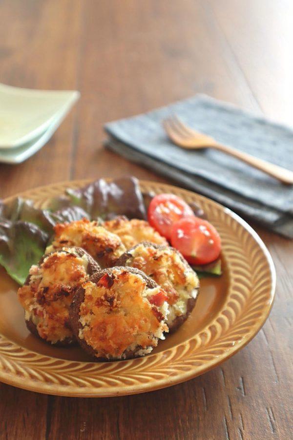 トースターで簡単◎しいたけの香草パン粉チーズ焼き bykaana57さん