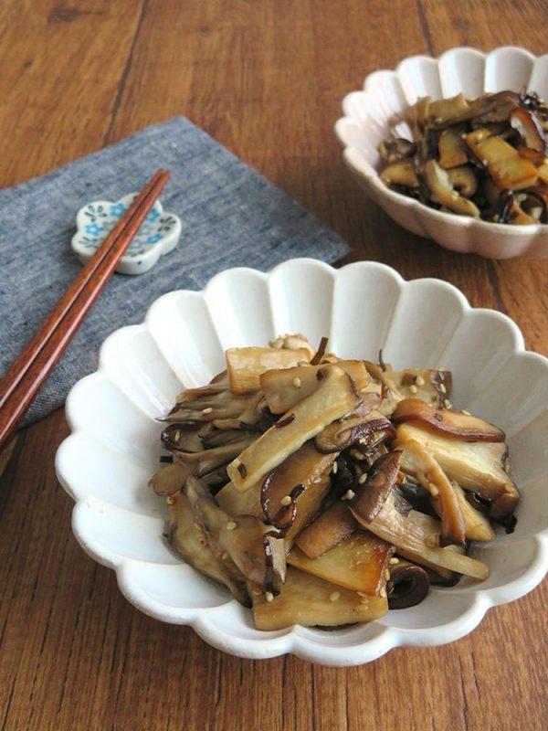 食物繊維たっぷり☆ヘルシー和総菜◎きのこの塩昆布炒め bykaana57さん