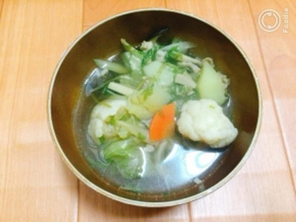 【ヘルシー】お肉と野菜のあったかスープ by藤本 あゆみ 美容料理研究家さん