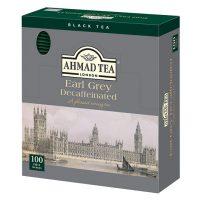 カフェインを気にせず紅茶が飲める!「AHMAD TEA デカフェ アールグレイ ティーバッグ」