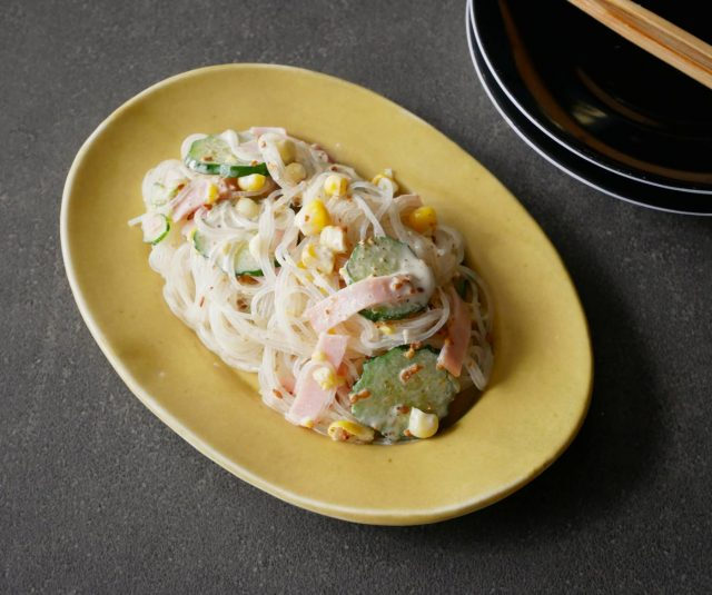 水分が出にくいからお弁当にも便利!簡単「きゅうりと春雨のマヨサラダ」