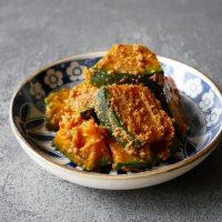 煮物より簡単!レンジで作る「かぼちゃのごま和え」