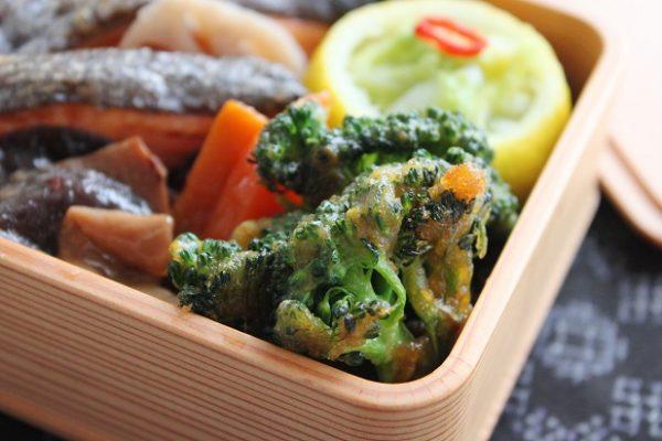 焼くだけ簡単!旬野菜のお弁当おかず「ブロッコリーのカレー衣」 by 料理家 かめ代。さん