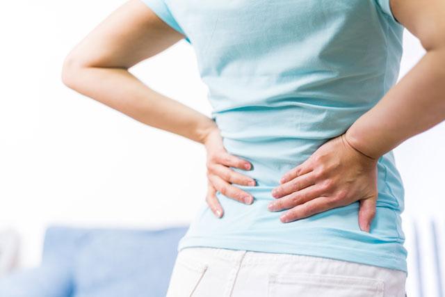 腰痛のイメージ