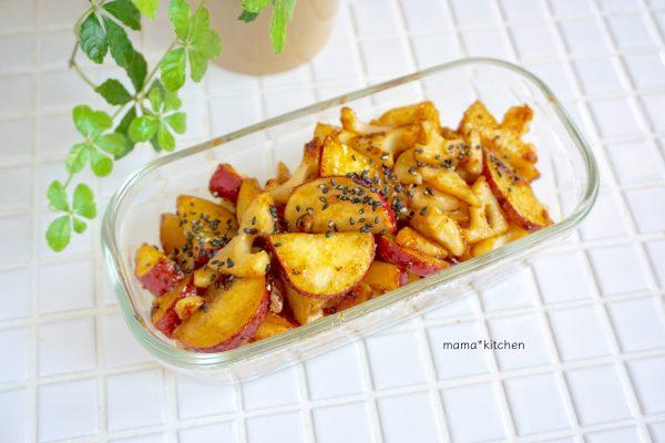 おいしくて食べ過ぎちゃう!「さつま芋と蓮根のデリ風照り焼き」の作り置き by フードコーディネーター Mayu*さん