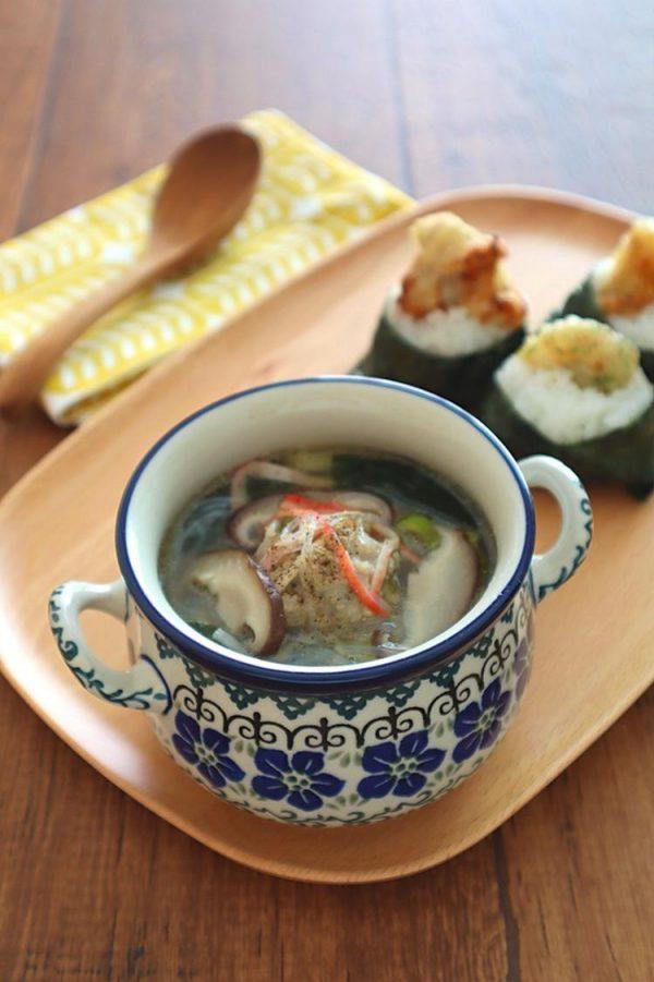 食べるスープ♪鶏生姜だんごの旨塩春雨スープ bykaana57さん