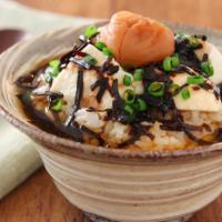 さっぱり、ヘルシー!簡単「お豆腐×ごはん」朝食レシピ3選