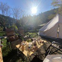 キャンプで日の出とおしゃれ朝ごはん!