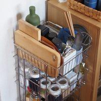 料理がスムーズに!キッチン道具がすっきり収まる「大木製作所 ステンレスストッカー」