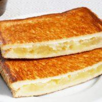 休日の朝に食べたい!簡単「りんご×食パン」レシピ3選