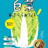 おいしくて作りやすい!主菜から副菜まで白菜レシピを大特集した一冊