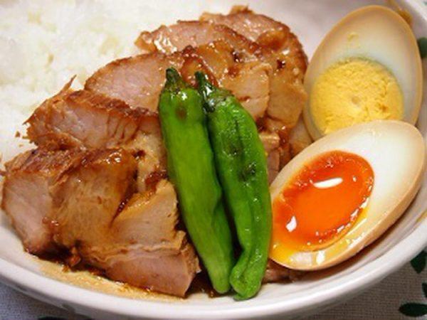 【豚ブロック肉】炊飯器で♪「やわらかチャーシュー」