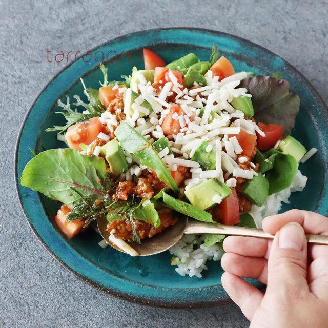 野菜たっぷり「タコライス」