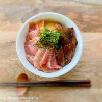 朝から贅沢海鮮丼