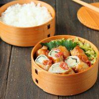 新米ご飯に合う!「えのきの梅ポン肉巻き」「キャベツのフライパン蒸し」2品弁当