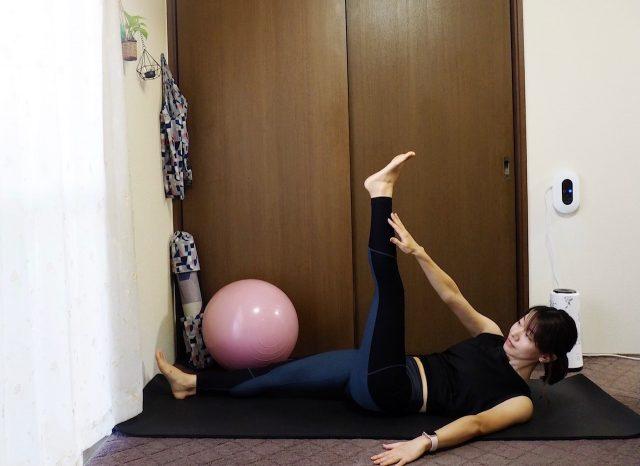 腹部引き締めトレーニング4